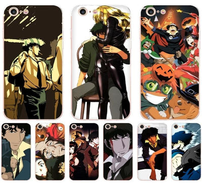 Cowboy Bebop TPU soft case phone for iPhone. - Adilsons