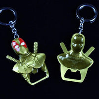 Deadpool accessories keychain. - Adilsons