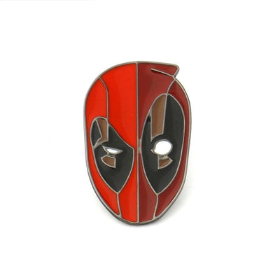 Deadpool color brooches. - Adilsons
