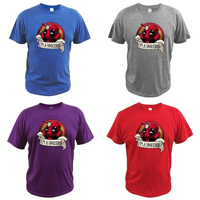Deadpool comfortable T-shirt. - Adilsons