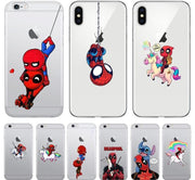 Deadpool exclusive phone cases for iPhone. - Adilsons