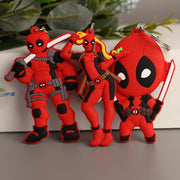 Deadpool figure keychain. - Adilsons