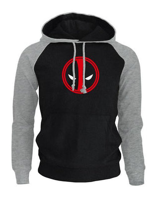 Deadpool fleece winter hoodies. - Adilsons