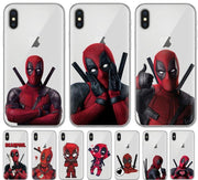 Deadpool soft silicone phone case for iPhone. - Adilsons