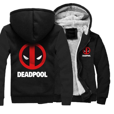 Deadpool winter hoodies. - Adilsons