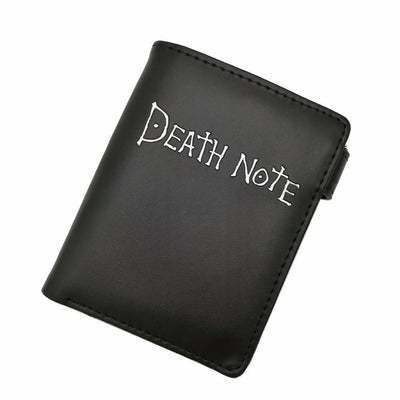 Death Note black leather wallet - Adilsons