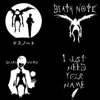 Death Note Black T-shirt. - Adilsons