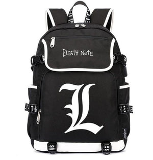 Death Note Casual Laptop Backpack. - Adilsons