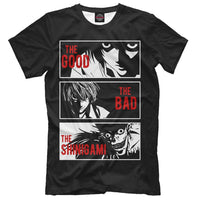 Death Note Cotton Print T-shirt. - Adilsons