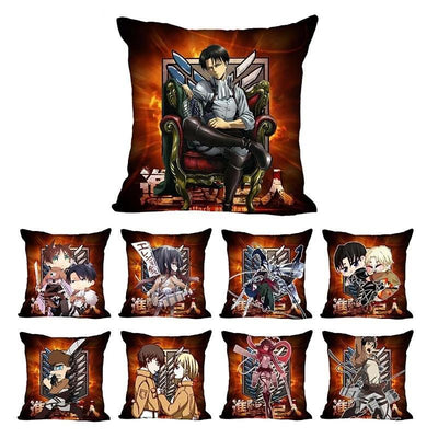 Decorative pillowcase in anime style one side. - Adilsons