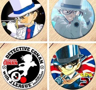 Detective Conan brooch for clothes. - Adilsons