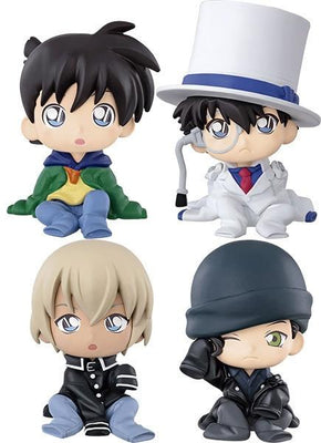 Detective Conan Case Closed Action figure toys with box. - Adilsons