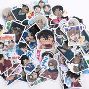Detective Conan decor sticker 40pcs/packs. - Adilsons