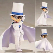 Detective Conan in a white costume anime figure. - Adilsons