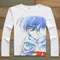 Detective Conan long sleeve print unisex T-shirts. - Adilsons