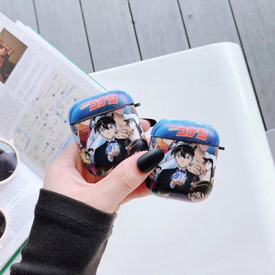Detective Conan soft headset Airpods case. - Adilsons