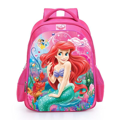 Disney Princess Ariel Princess backpack. - Adilsons