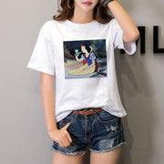 Disney Princess casual T-Shirt. - Adilsons