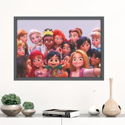 Disney Princess home decor movie poster. - Adilsons