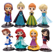 Disney Princesses 21 styles action figures. - Adilsons