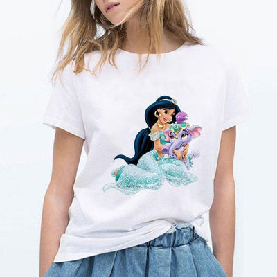 Disney Princesses Jasmine high quality T-Shirt. - Adilsons