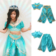 Disney Princesses kids costume Jasmine princess. - Adilsons