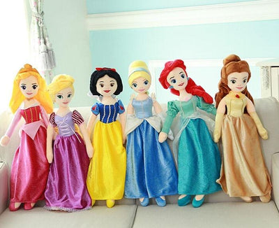 Disney Princesses plush stuffed princess 65cm. - Adilsons