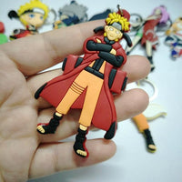 Double sided soft keychain in naruto style. - Adilsons
