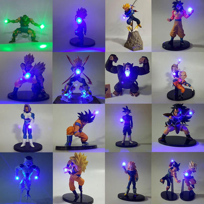 Dragon Ball Action figure with LED lights - Adilsons