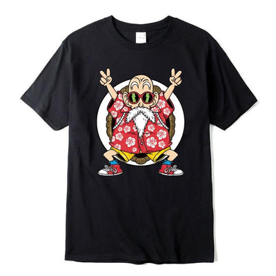 Dragon Ball Bright, high-quality T-shirt Master Roshi. - Adilsons