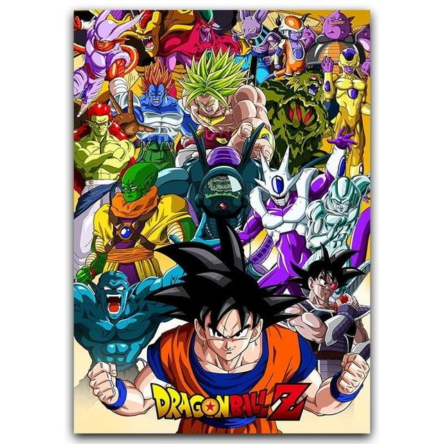 Dragon Ball Canvas decoration - Adilsons