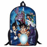 Dragon Ball Character print out Backpacks - Adilsons