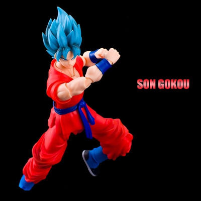 Dragon Ball Goku SSJB figurine - Adilsons
