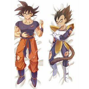Dragon Ball Son Goku Battle body pillow case. - Adilsons