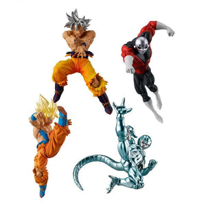 Dragon Ball Super a set of 4 figures high-quality bright and stylish. - Adilsons