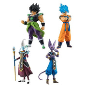 Dragon Ball Super Broly Movie Characters Figurine Goku SSJB - Beerus - Whis - Broly - Adilsons