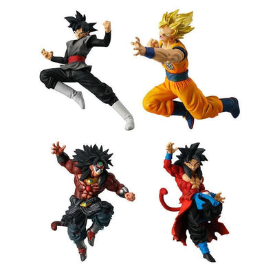 Dragon Ball Super Goku Black - Goku SSJ - Goku SSJ4 Figurine - Adilsons