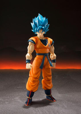 Dragon Ball Super Goku SSJB Figurine - Adilsons