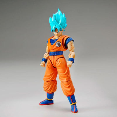 Dragon Ball Super Goku SSJB Kamehameha Figurine - Adilsons