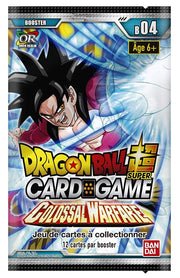 Dragon Ball Super JCC Booster 4 Colossal Warfare - Adilsons