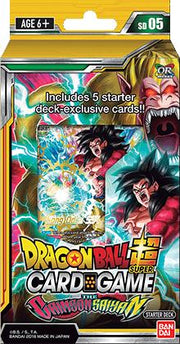 Dragon Ball Super JCC Starter 5 Crimson Saiyan - Adilsons