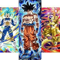 Dragon Ball Super Universe 7 fighters Wall Art 5pcs - Adilsons