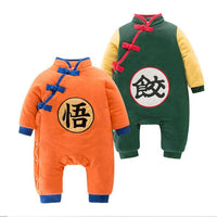 Dragon Ball Winter suit for children, warm, comfortable and beautiful. - Adilsons