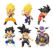 Dragon ball z original and high-quality figures of 6 pieces in a set. - Adilsons