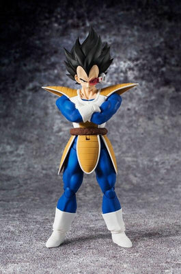 Dragon Ball Z Vegeta first time on eart Figurine - Adilsons