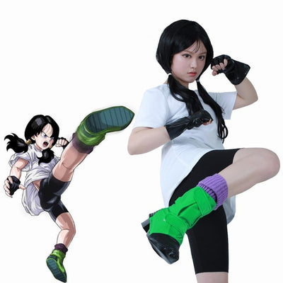 Dragon Ball Z Videl Cosplay - Adilsons