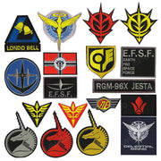 Embroidered quality badges for the lovers of the Gundam world. - Adilsons
