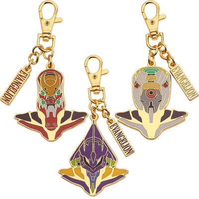 Evangelion high-quality keychain. - Adilsons