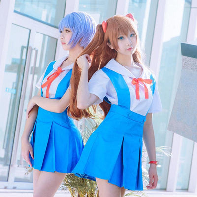 Evangelion uniform dresses costume. - Adilsons
