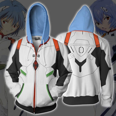 Evangelion zipper casual jackets. - Adilsons